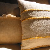 Pillows from vintage textiles