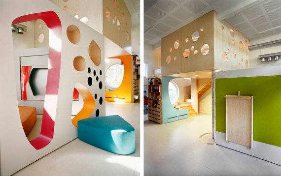 Kindergarten in Tromso, Finland, by Norwegian Architects 70 Degrees North