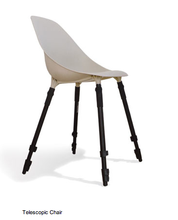 Telescope chair by Bless Design