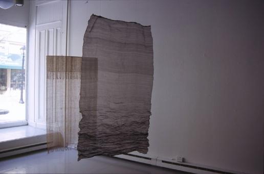 Mackenzie Frere, Immaterial, Textile Installation