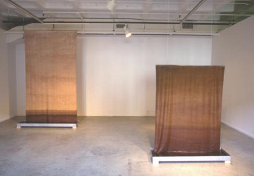 Mackenzie Frere, Soak, Textile Installation