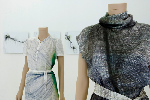 1-of-1-studio's The Tissue Collection, dresses
