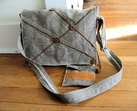 Tweed bag by Ouno Design