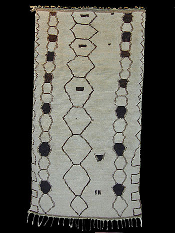 Azila Berber rug, chain pattern