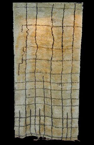 Berber rug, Beni Ourain, 1930