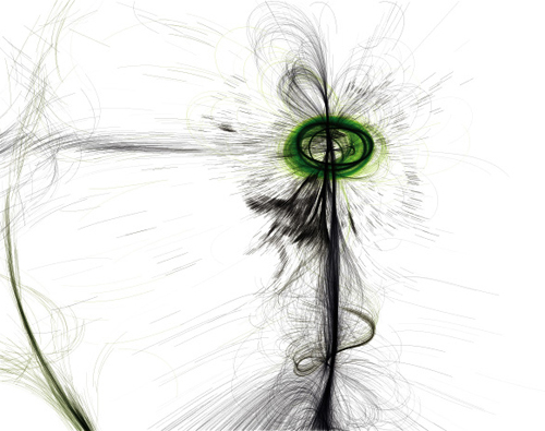 Tissue by C.E.B. Reas - generative software art