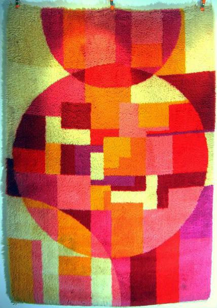 1960s rya rug