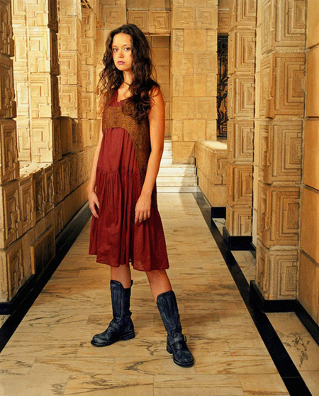 "Summer Glau in Firefly - this is the look we at Ouno Design call ""Space Rags"""