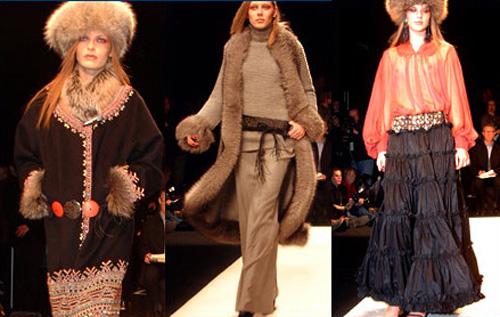 De la Renta catwalk 2002