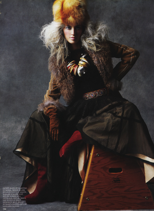 Fashion Magazine, Canada, December 2008
