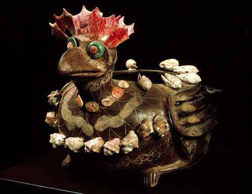 Gallina Loca, bird shaped vessel, Museum of Anthropology, Mexico