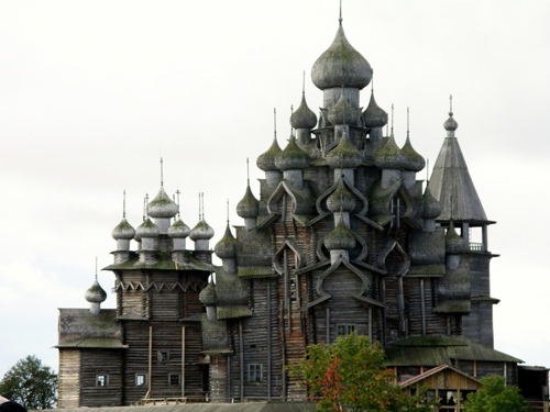 Church of the Transfiguration, Kizhi Island, Russia