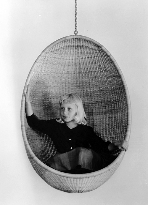 Nanna Ditzel, Egg Hanging Chair, 1959