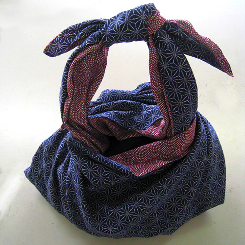 furoshiki bag by MrsTools on Flickr