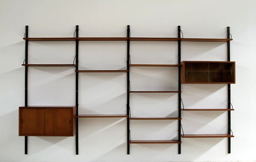 Paul Cadovius Royal System wall unit, in Pesaro, Italy