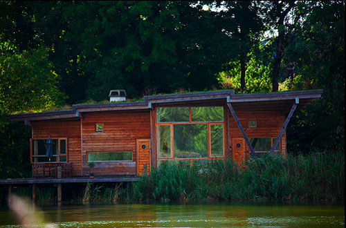 Christiania riverside house
