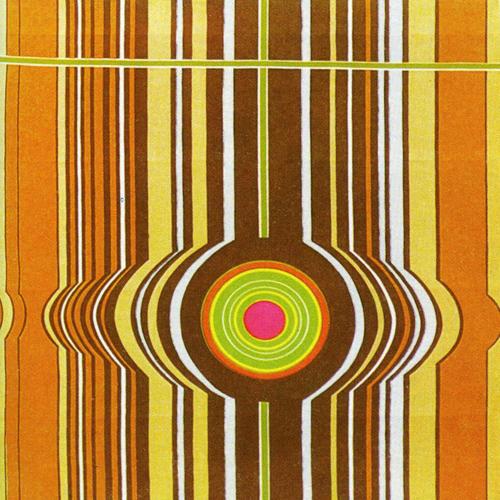 Elsbeth Kupferoth textile, Cristal, 1970s