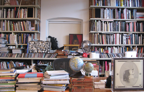 Paul Smith, office library