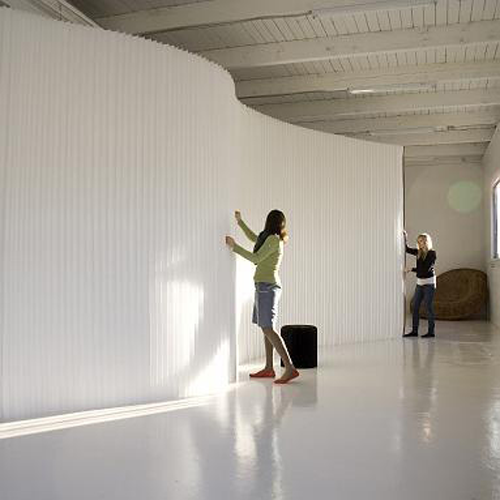 Softwall, flexible room divider by Molo Design