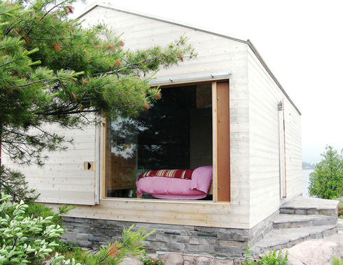 Sleeping Cottage on Lake Huron, Canada, by Mos, 2003-4
