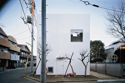 Tiny Tokyo house by Japanese architect Kazuyo Sejima