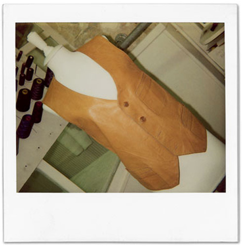 How to make a Martin Margiela waistcoat, Step 1