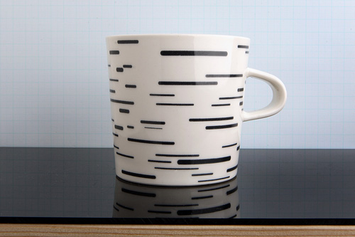 Birch/Bříza mug by Czech company whitefruits