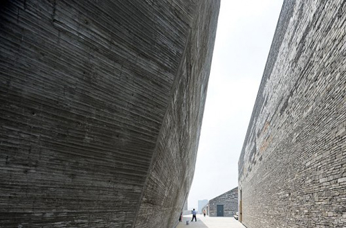 Ningbo Museum by Wang Shu's Amateur Architecture Studio, by Iwan Baan