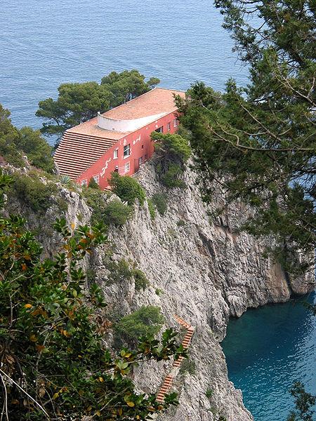 Villa Malaparte, Capri
