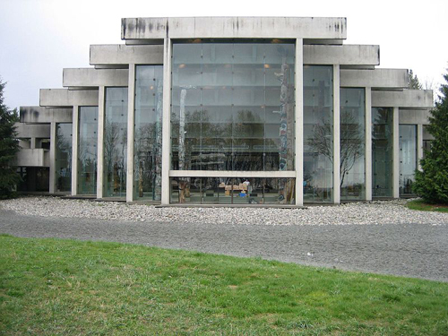 UBC Museum of Anthropology, Vancouver, by Arthur Erickson