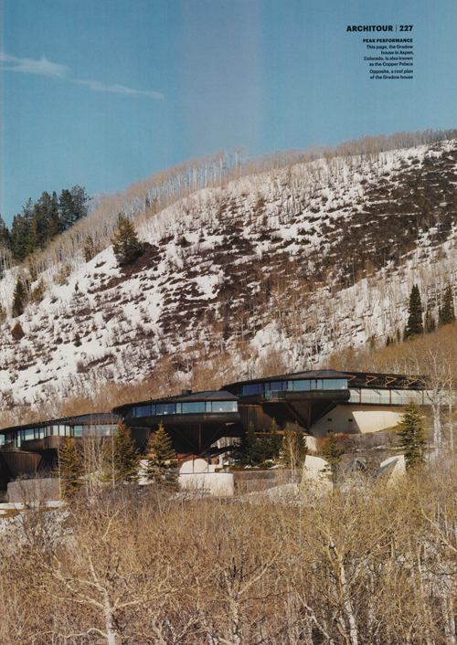 The Gradow House, Aspen, Colorado, by architect Bart Prince