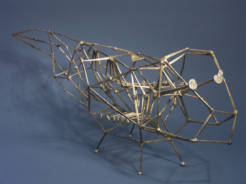 Organic Animal Form Sculpture, one of a kind by Harry Bertoia
