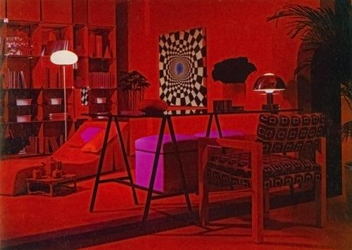 Bloomingdales red room by Barbara D'Arcy