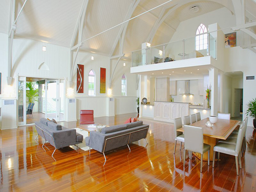 Brisbane converted church via desiretoinspire