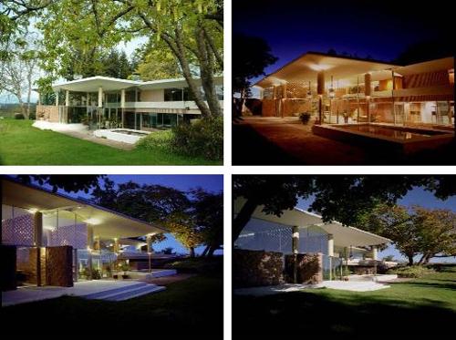 Filberg House by Arthur Erickson