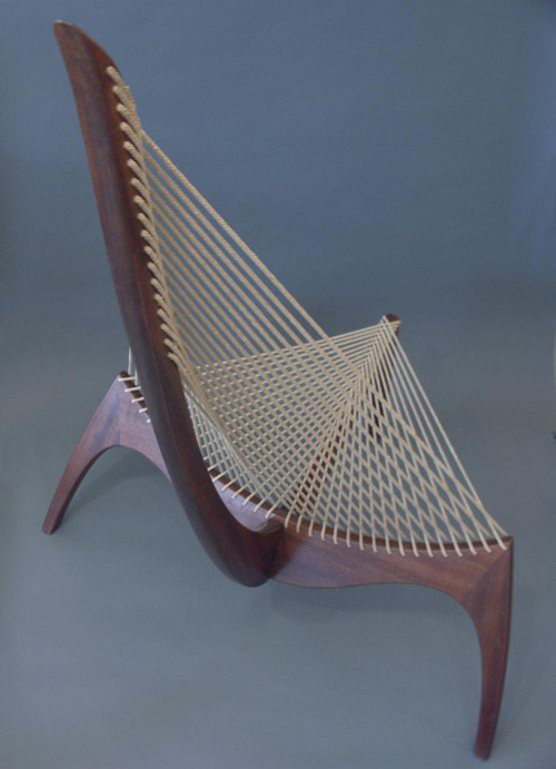Harp Chair by Jorgen Hovelskov, by Lost City Arts