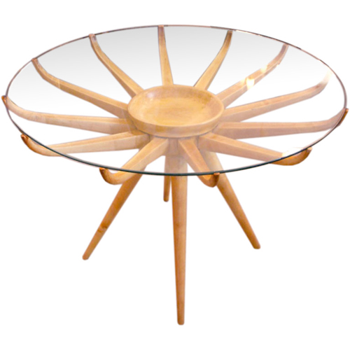 Italian spider table from Lost City Arts