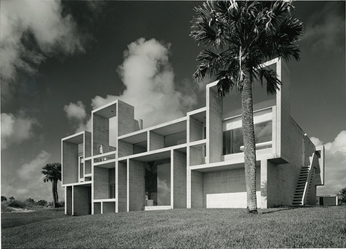 Milam Residence, Paul Rudolph, Architect, courtesy Paul Rudolph Foundation