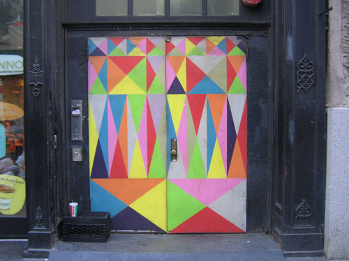 NYC door, by Anna Doorfman of Door Sixteen