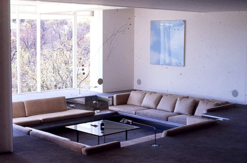 Bass Residence, courtesy the Paul Rudolph Foundation