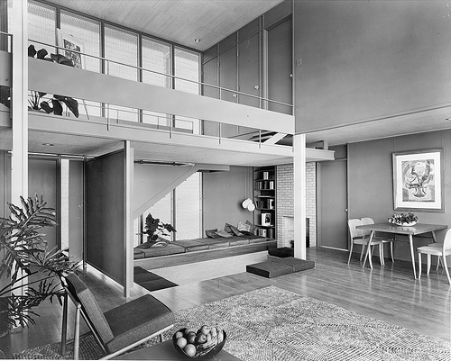 Umbrella House or Hiss Residence, courtesy the Paul Rudolph Foundation