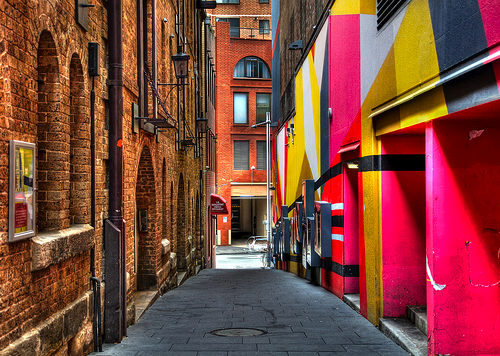 Sydney street by loveroni on Flickr