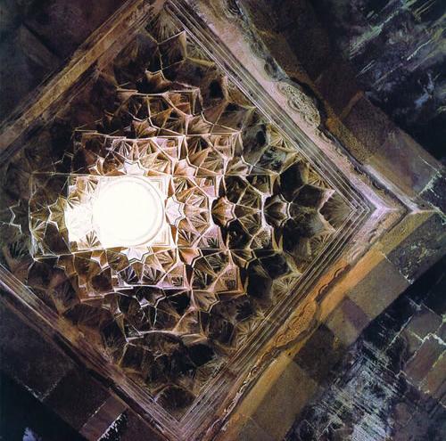 Gandzasar Monastery, stalactite ornamentation