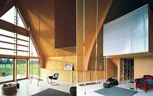 eco-house in Normandy