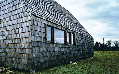 Terence Conran on an eco house in Normandy