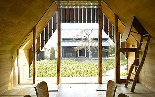 Charred Cedar House by Terunobu Fujimori