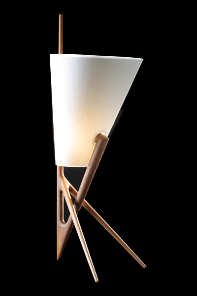 Issa lamp via Kozai Designs