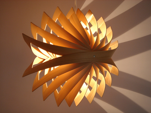 ToshiyukiTanihanabi lamp, from Kozai Designs