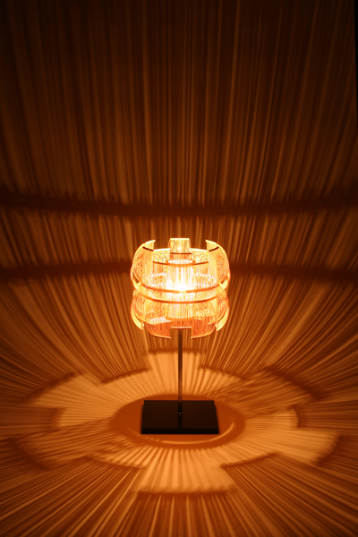 Toshiyuki Tanisen lamp via Kozai Designs