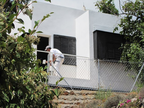 Photo: Vibeke Jakobsen. Eileen Gray's e1027 house, Roquebrune-Cap-Martin, France
